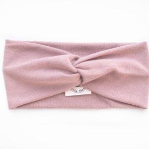 Haarband aus rosanem Viskosestoff