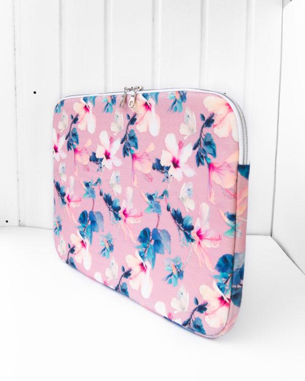 nachhaltige-Laptophülle-Hibiskus-rosa-recycelt-3