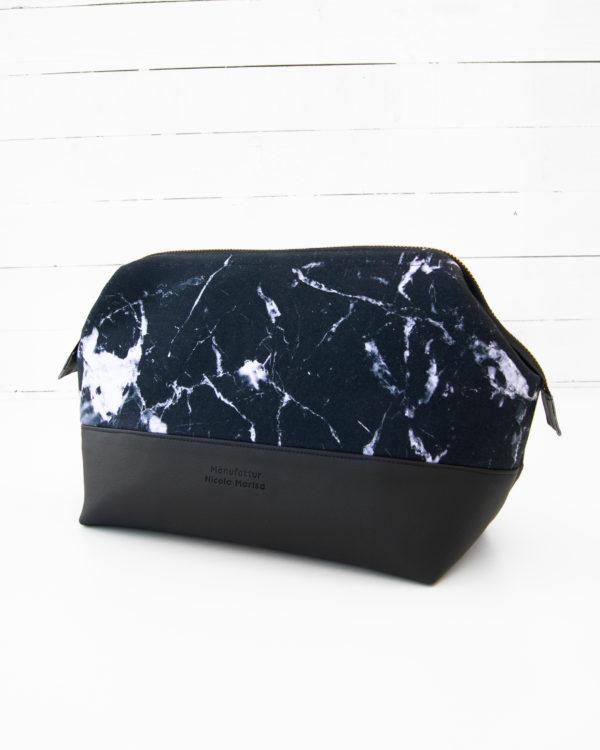 Nachhaltige Kulturtasche Handtasche in Marmoroptik