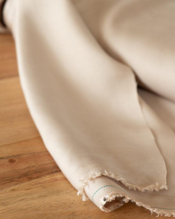 nachhaltiger Tencelstoff beige sand Meet milk Meterware DIY-Nähkit nähen Culotte Shorts Mode