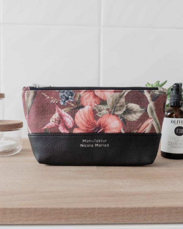 Nachhaltige Kosmetiktasche Schminktäschchen im Wonderland design